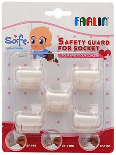 The Safety Guard for sockets prevents your baby from accidentally getting electrocuted.