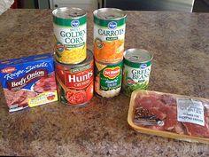 The Dalomba Days: Vegetable Soup & 2 Dips Crock Pot Food, Crockpot Dishes, Crock Pot Slow Cooker, Slow Cooker Recipes, Crockpot Recipes, Soup Recipes, Cooking Recipes, Crock Pot Vegetables, My Favorite Food