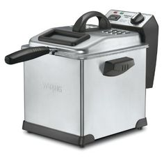 Waring DF175 Digital Deep Fryer, 3-Liter - #DeepFryers, #Waring - http://activelivingessentials.com/kitchen-essentials/waring-df175-digital-deep-fryer-3-liter-5/