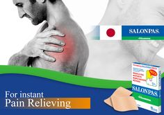 Salonpas Patch technology is designed to sooth your pain. Menthol starts to cool on contact, then later delivers a warming sensation. (Active Ingredients: Menthol & methyl salycilate )