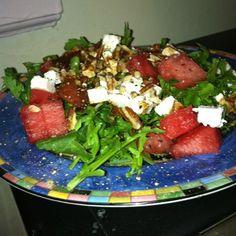 Arugula, Watermelon and Feta Salad | Recipes | Beyond Diet