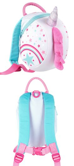 If you're looking for reins for your little one, then how about these fab Unicorn Backpack Reins!