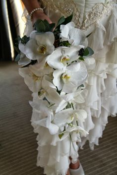 Fabulous Bridal Bouquet of Phalaenopsis Orchids