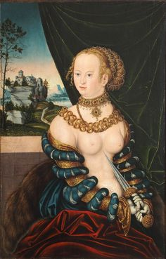 Lucas Cranach the Elder (1472 - 1553) - Lucretia