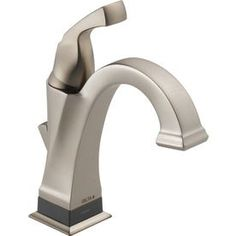 Delta Dryden With Touch2o.Xt Technology Spotshield Stainless 1-Handle Single Hole/4-In Centerset Watersense Bathroom Fau