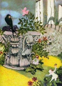 "«Tales of Hans Christian Andersen"" Illustrator Jiří Trnka Country Czech Republic Year 1966 Publisher Artiya"