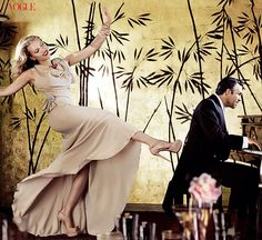 Scarlett Johansson in Vogue