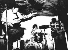 The Minutemen in Hollywood,1984  (from left) d. boon, george hurley and mike watt.