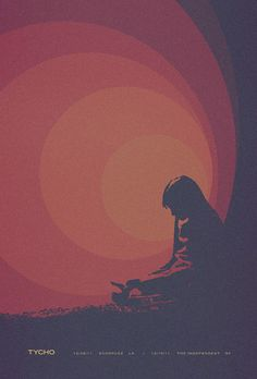 Tycho gig poster