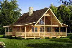 The Carson by Southland Log Homes