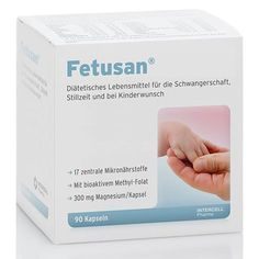 FETUSAN capsules 90 pcs for pregnancy, breastfeeding