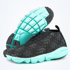 Nike Air Footscape Desert Chukka – Black/Turquoise