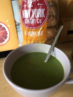 Er... Asparagus & Spinach Soup?