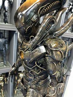 Iron Man Xenomorph