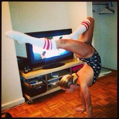 Becca Tobin Becca Tobin, Glee, Fangirl, Skinny, Photo And Video, Celebrities, Gymnastics, Instagram, Fitness
