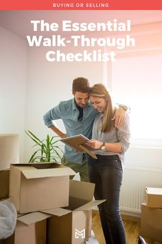 Final walk-throughs are one of the last hurdles to buying or selling a home. Read through this checklist before your walkthrough and catch those last-minute items! Moving Costs, Moving Tips, Last Pass, Hurdles, Next At Home, Home Buying, Finals, Walking, City Guides