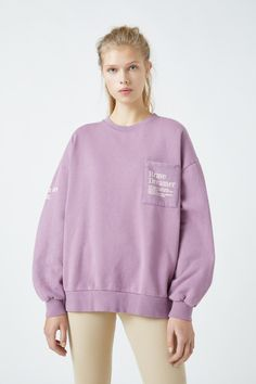 Malva, Hooded Sweatshirts, Hoodies, Pull & Bear, The Dreamers, Hooded Jacket, Zip Ups, Pocket, Clothes For Women