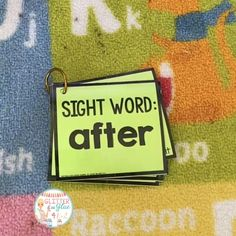 Sight Word Intervention Flip Books- Dolch First Grade Words
