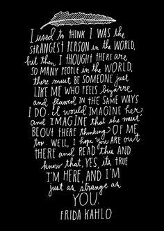 Quote, Frida Kahlo