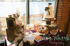 Erin Whittle Photography - Cake & Pastries by Creative Cake Design by Tammy Hodge - RSVP: The RiverRoom Blogspot