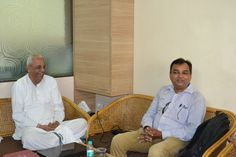 Bhanu Mishra from Navabharat visits Annamrita-ISKCON Food Relief Foundation