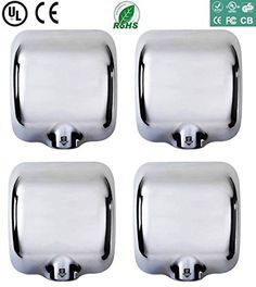 ( 4 Packs) Heavy Duty Commercial 1800 Watts Automatic Hand Dryer Stainless Steel  //Price: $ & FREE Shipping //     #Bathroom