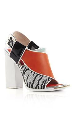 Kenzo Tangerine Cous Jungle Tall Sandal