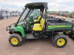John Deere 825i DOHC Gater. Example of an Auction Item Sold Online by Hansen & Young, Inc. Auction Items Were Located at Mason, WI.