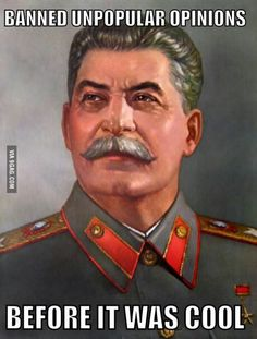 Opinions on Stalin and communism?