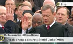 OATH OF OFFICE FOR MR DONALD J TRUMP 😱❤️💚💛💜💙