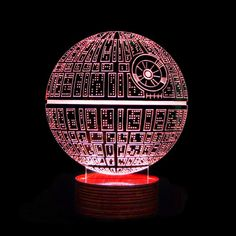 New! Disco Star Wars 3D Deco Lamps | GeekyGet