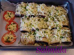 Montignac eggplants rolls