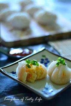 kingdom of tasty life: 素菜粿(附捏皮步骤图)
