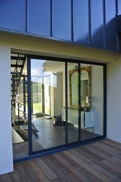 1000 images about baie vitr e on pinterest atelier - Baie vitree teintee ...