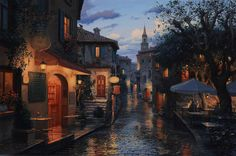 Magic Evening. Evgeny Lushpin.