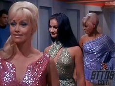 Mudd's Women--our introduction to my favorite Trek con man, and one of the shows toughest guest women, Eve, the blond in pink