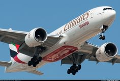 Emirates SkyCargo A6-EFK Boeing 777-F1H aircraft picture