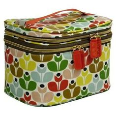 NEW Orla Kiely Travel Sweet Pea Wallflower Multi Flower Cosmetic Bag Case Train in Beauty & Gesundheit, Make-up, Make-up Taschen & Koffer | eBay
