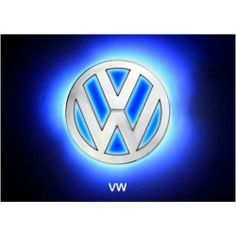 Generic LED Car Tail Logo Auto Badge Light Blue Light For Volkswagen VW CC Bora 2008 - product - Product Review