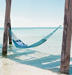 who needs a bed?! When you could just sway yourself to sleep on a hammock with the sounds of  crashing waves as you lullaby...