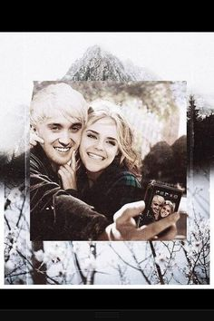 Draco & Hermione - Dramione -He changed my life by changing my mind He healed all that was broken inside I'm loving what I can see with His spirit alive in me I'm finding beauty for the first time Looking through my Father's eyes Always Harry Potter, Harry Potter World, Draco And Hermione, Hermione Granger, Emma Watson, Le Couple Parfait, Scorpius Rose, Dramione Fan Art, Fantastic Beasts