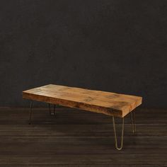 Reclaimed Wood Beam Coffee Table