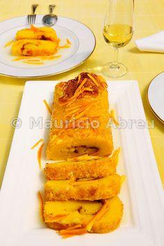 """Portuguese Delights: """"Torta de Laranja""""."""