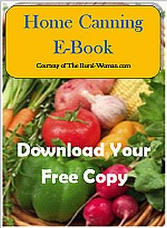Home Canning E-Book