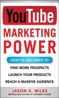 Now available! YouTube Marketing Power: How to Use Video to Find More Prospects, Launch Your Products, and Reach a Massive Audience by Jason Miles, http://www.amazon.com/dp/B00GTHTDQU/ref=cm_sw_r_pi_dp_WStRsb07WWMV4