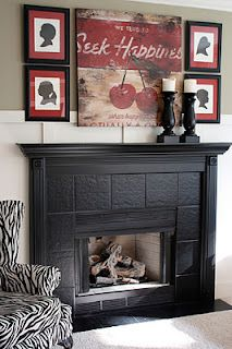 How To: DIY Upgrade Your Builder Grade Fireplace With Paint~Tutorial