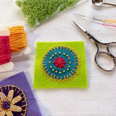 Embroidered Mandala | Flickr - Photo Sharing!