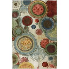 Mohawk Home Motion Printed Area Rug