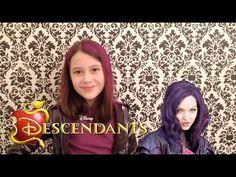 Descendentes Disney - Look Inspirado na Mal - Julia Silva - YouTube