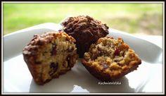 KuchniaWolska: Muffinki owsiane z żurawiną...